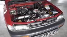1994 Subaru Impreza with tuned EJ engine