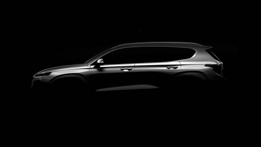 Hyundai teases us with new Santa Fe image