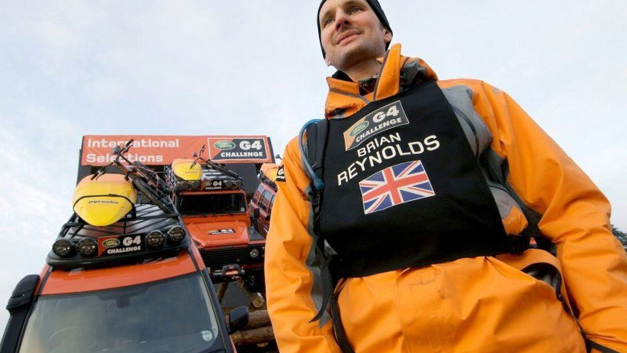 G4 Challenge UK competitor Brian Reynolds