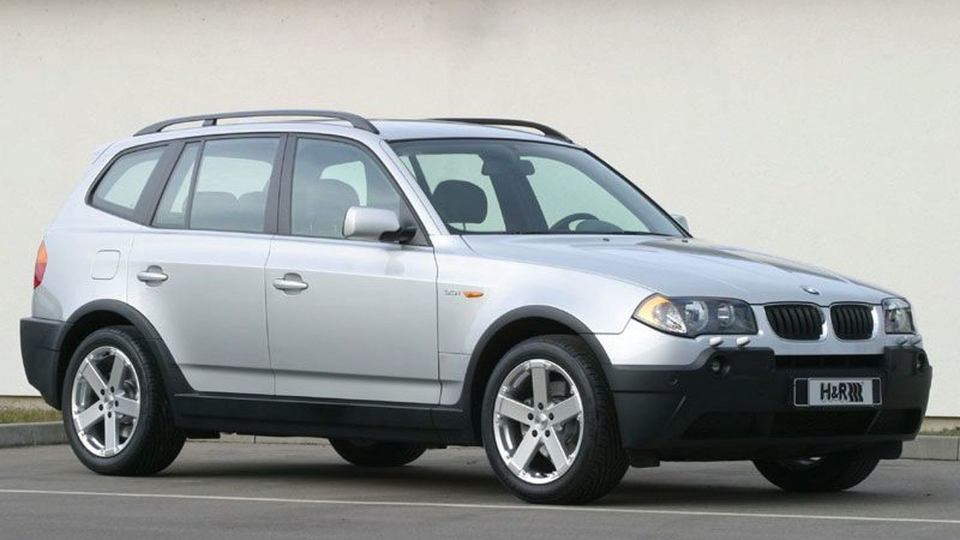 H R Suspension Tuning For The New Bmw X3 Motor1 Com Photos