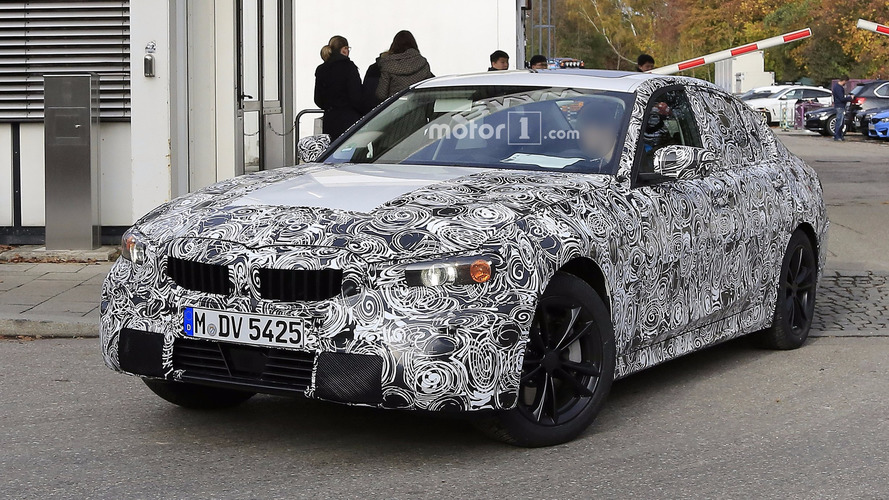 2018 BMW 3 Series spy photos