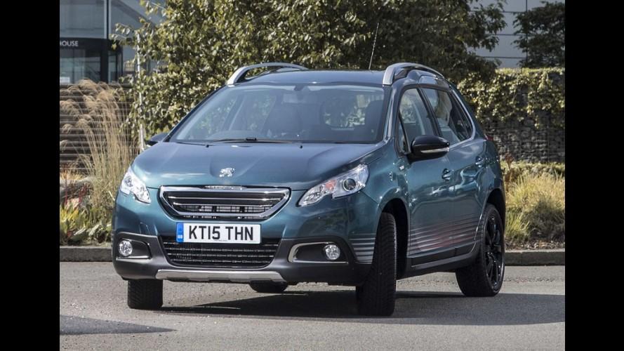 """Peugeot 2008 ganha série """"aventureira"""" com motor 1.2 Turbo no Reino Unido"""