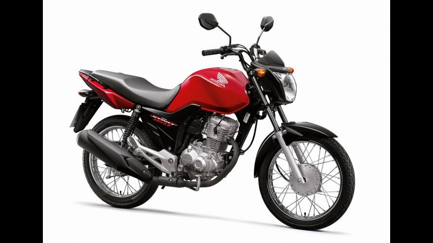 Honda CG 160 Start 2016 chega em abril por R$ 7.390