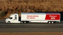 uber autonomous beer delivery truck