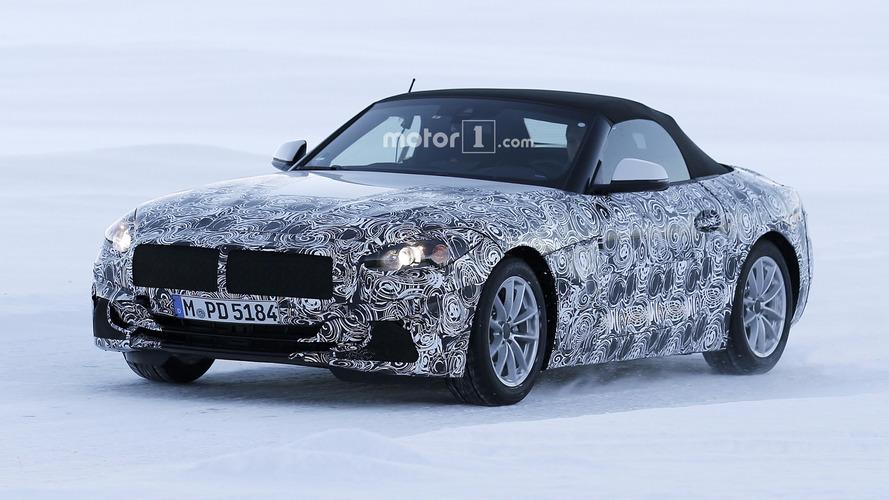 BMW Z5 2018 se apronta para estrear ainda neste ano