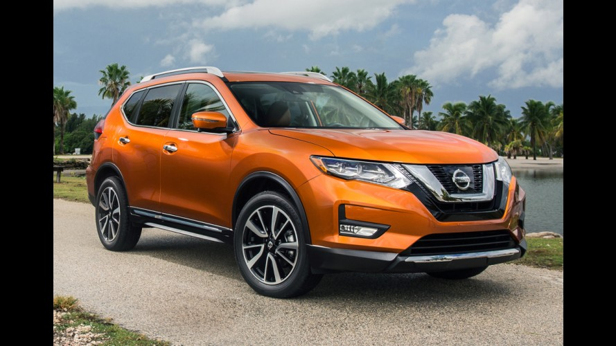 Nissan Rogue 2017 (X-Trail) ganha retoques e inédita versão híbrida