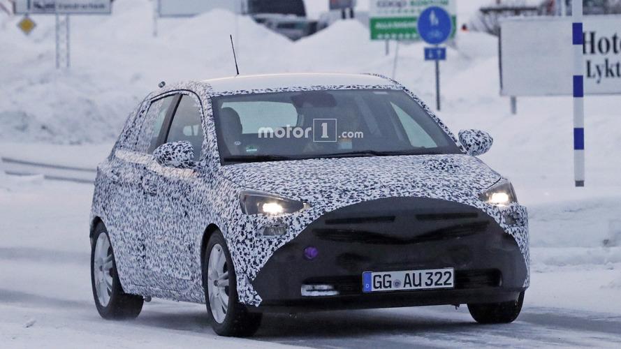 Fotos espía del Opel Corsa 2019
