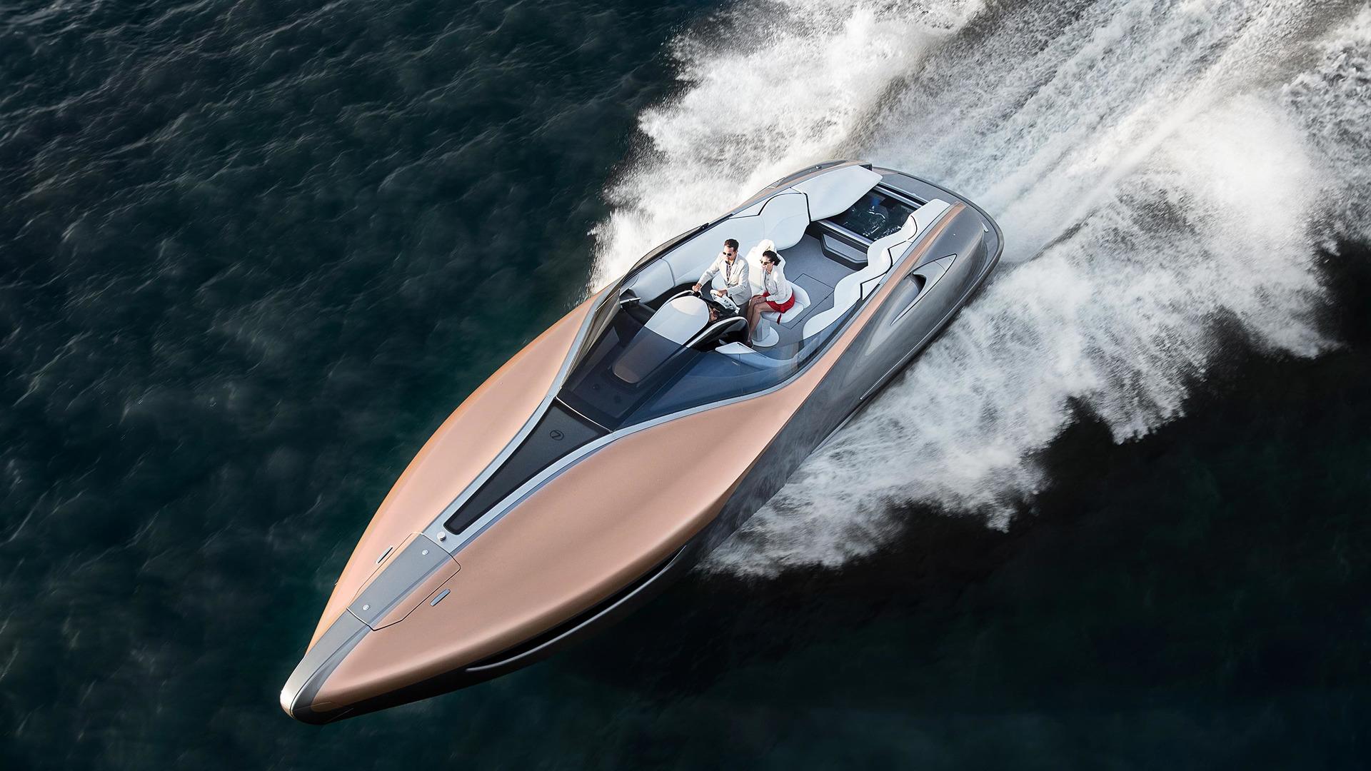 Lexus Teases готов к производству 1600-HP LY 650 Luxury Yacht