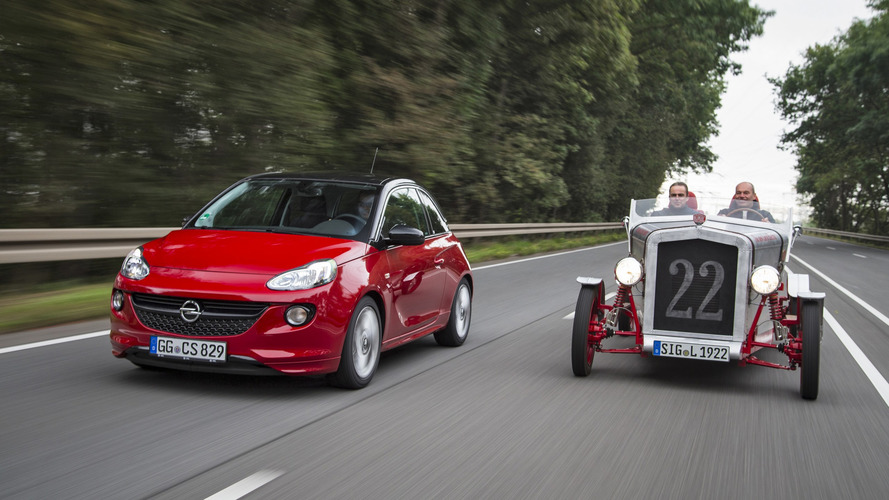 Opel Adam donates parts to 90-year-old EV retro revival