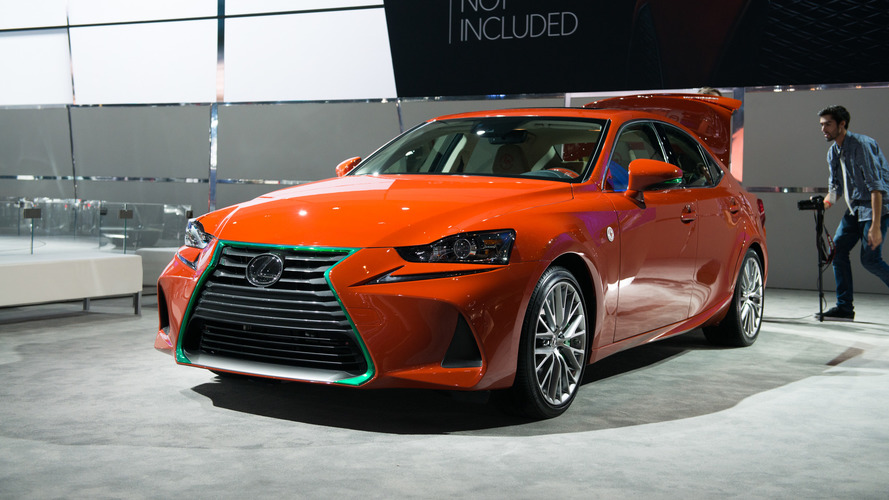 Los Angeles 2016 - Lexus Sriracha IS, piquante de plaisir