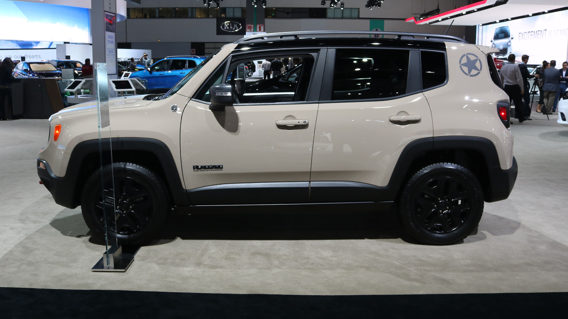 Jeep Renegade Desert Hawk >> 2017 Jeep Renegade Deserthawk Is Yet Another Special Edition