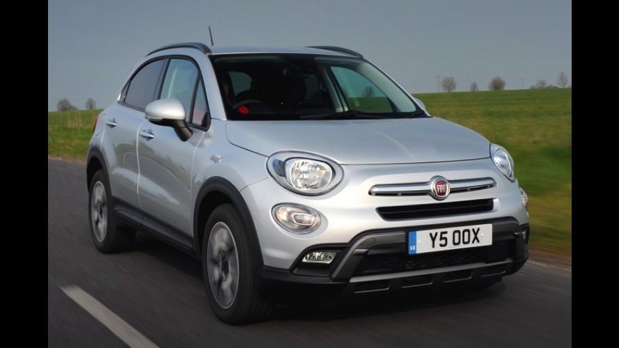 Fiat 500X já vende mais que Jeep Renegade e Peugeot 2008 na Itália