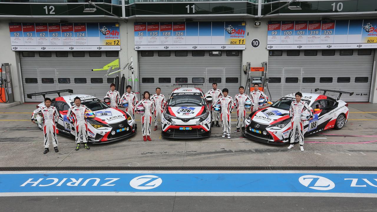 Toyota Gazoo Racing C-HR Nurburgring