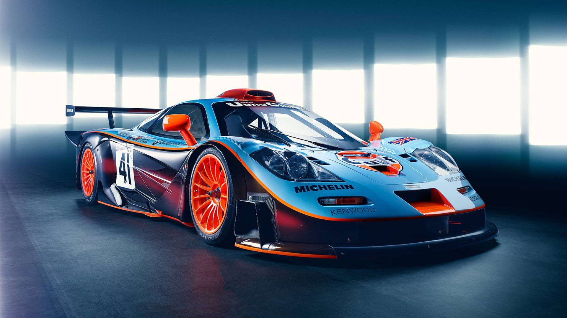 Blast from the past: McLaren revisits the stunning F1 GTR ...