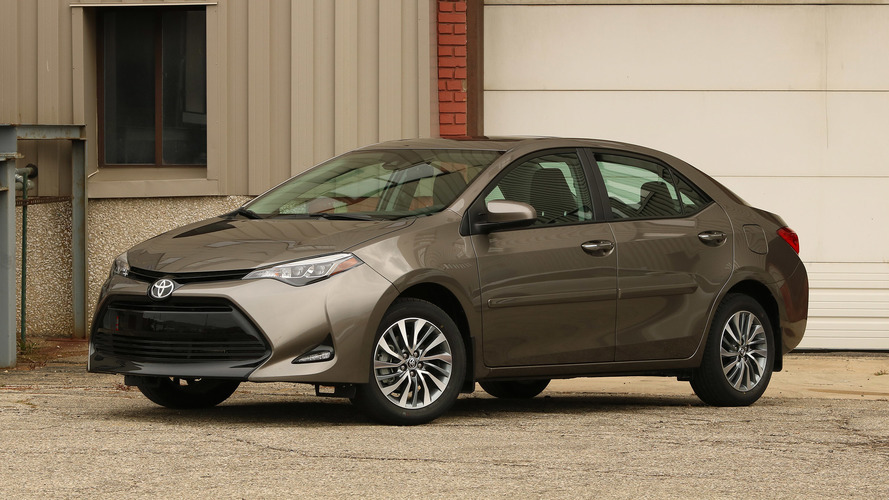2017 Toyota Corolla Review Mediocrity Sells