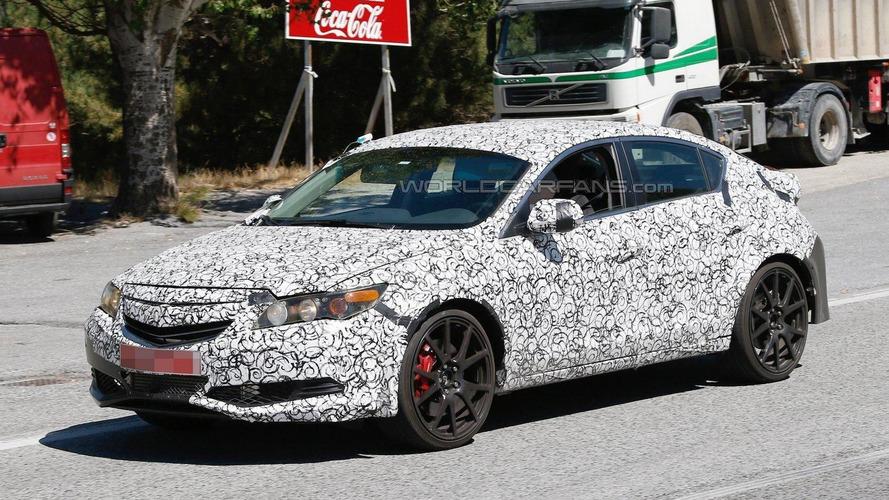 Next-generation Honda Civic Type R mule spied