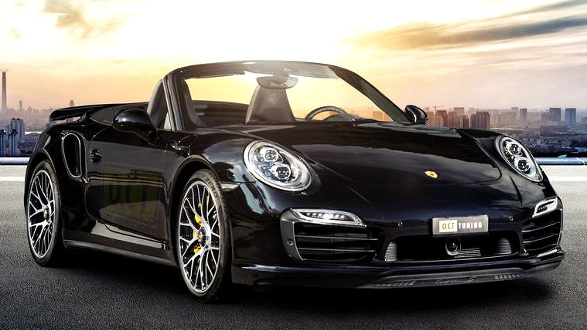 Porsche 911 Turbo S Cabriolet By O Ct Tuning Dialed To 669