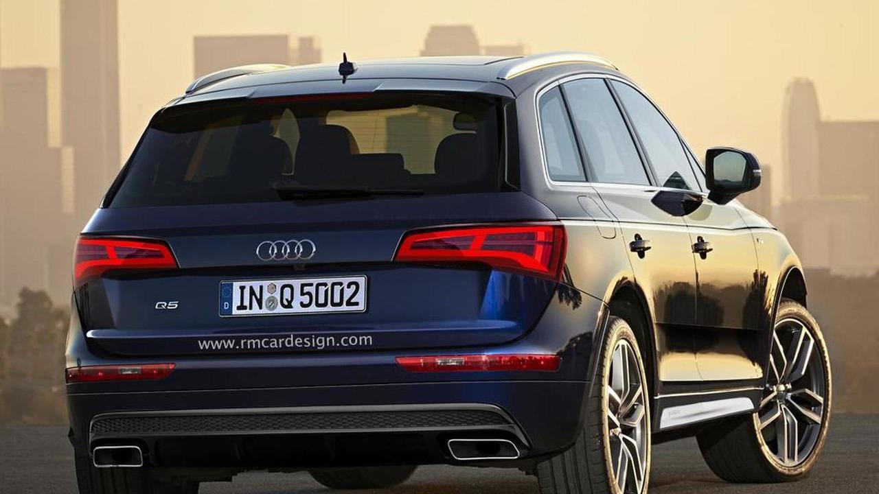 2016 Audi Q5 rendering / RM Design