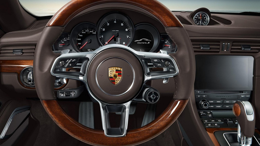Porsche 911 revealed with wood trim, sacrilege?