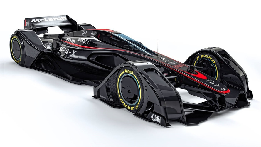 McLaren MP4-X concept previews the future of motorsport