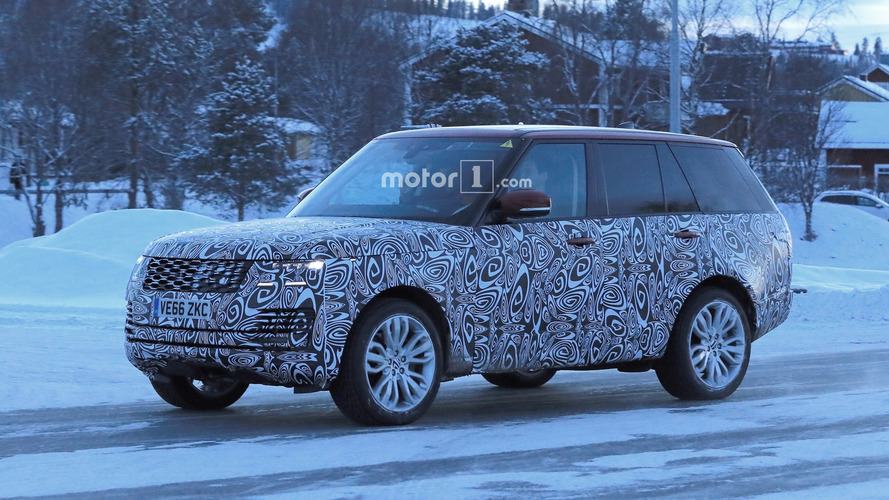 2018 Range Rover Plug In Hybrid Spied Cold Weather Testing