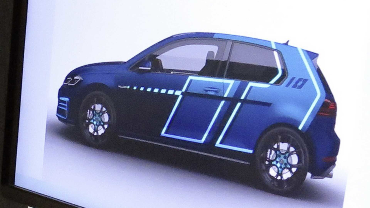 VW Golf GTI teaser for Worthersee 2017