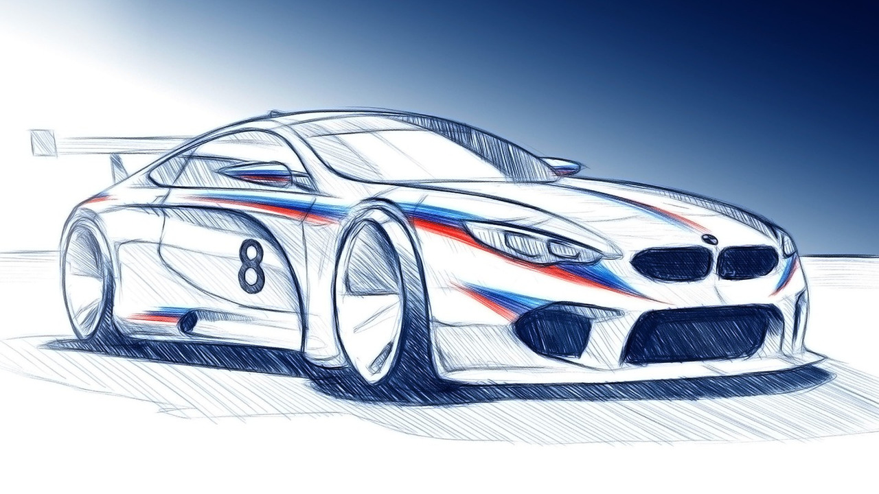 2018 BMW M8 GTE render
