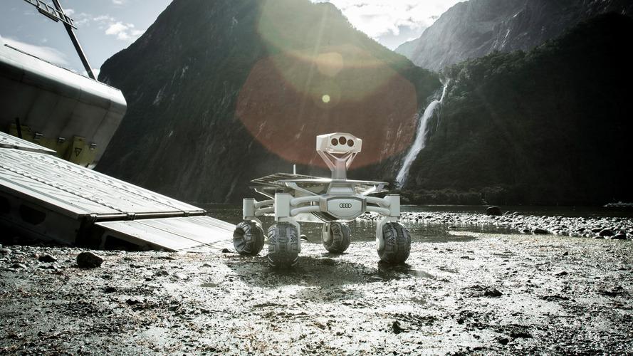 Audi part dans l'espace dans le film