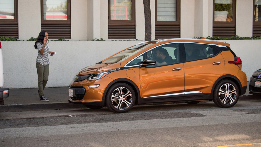 Now You Can Rent A Chevy Bolt For Your Side Hustle