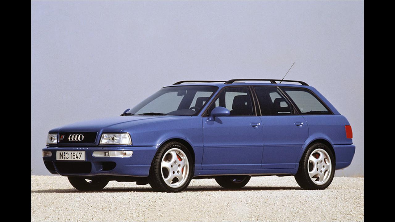 3. Platz: Audi RS2
