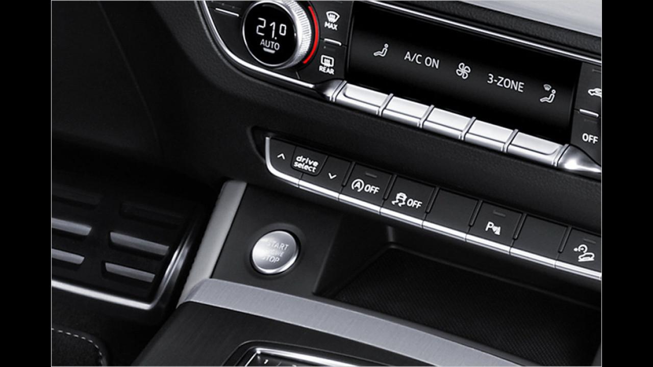 Cockpit: Drive Select