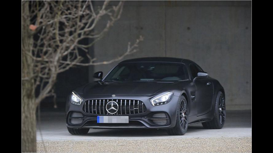 Mercedes-AMG GT C Coupé als Erlkönig
