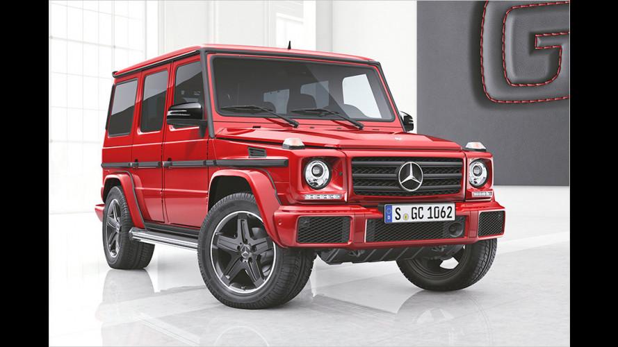 Luxuriöse Sondermodelle der Mercedes G-Klasse