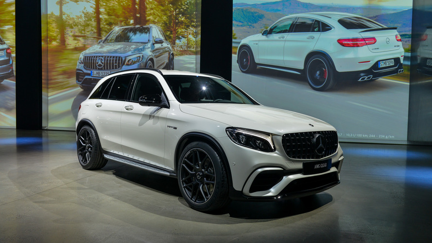 2018 Mercedes-Benz GLC63 and Coupe: New York 2017