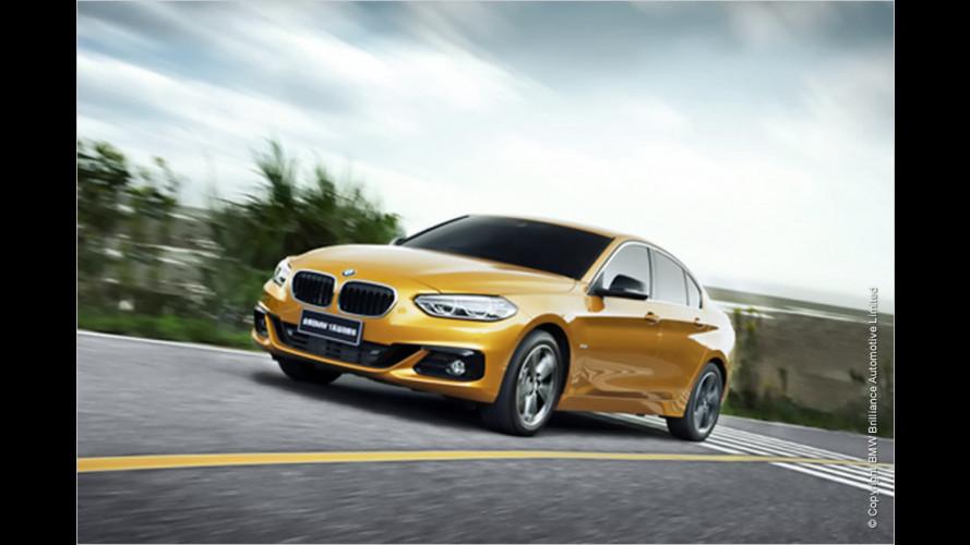 BMW bringt die 1er-Limousine nach China
