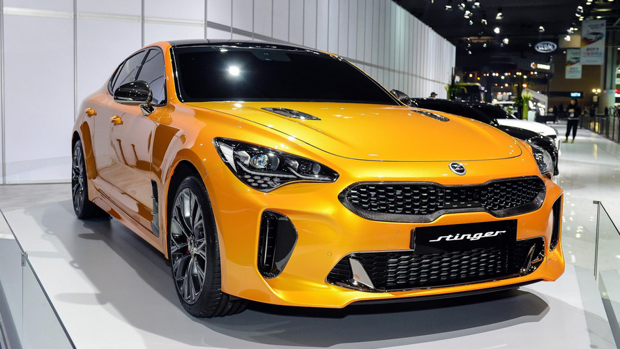 Kia Stinger To Get V8 Engine In The United States