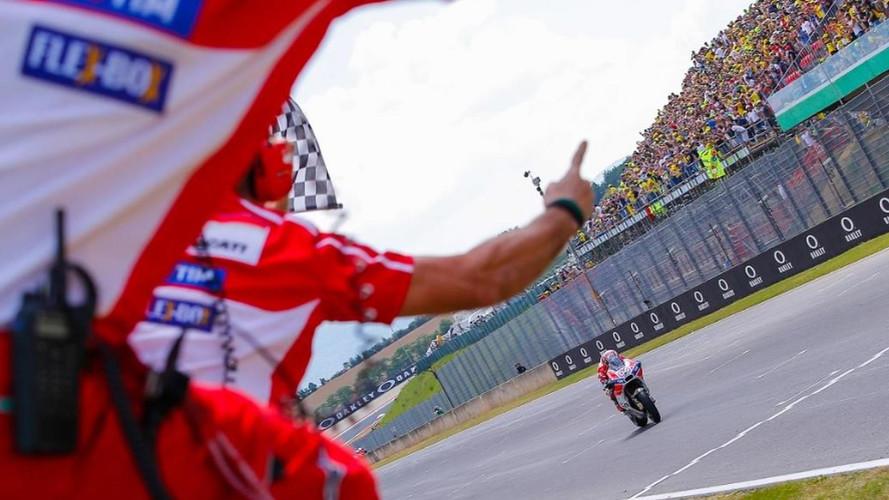 Andrea Dovizioso y Ducati se apoderan de Mugello
