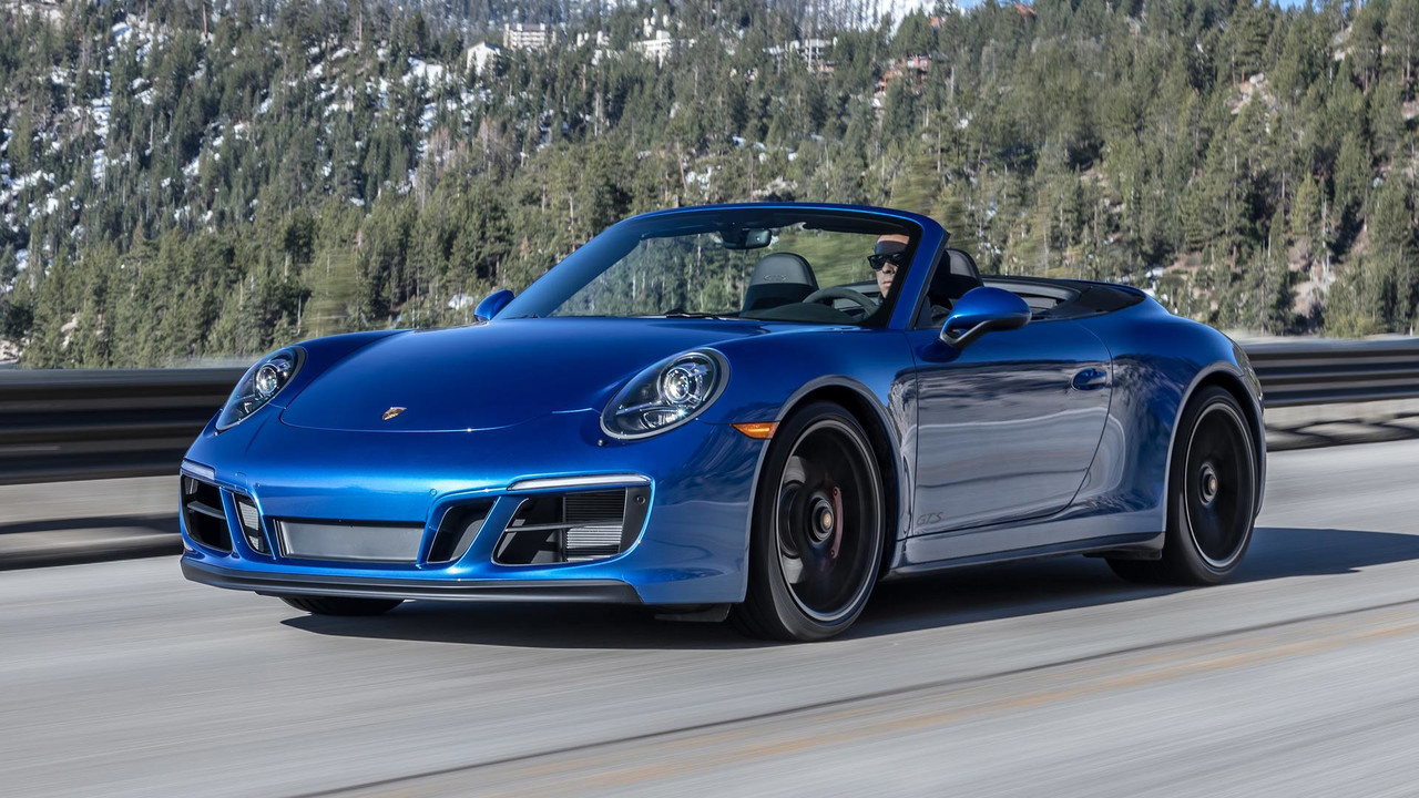 2018 Porsche 911 Carrera Gts Cabriolet First Drive Motor1 Com Photos