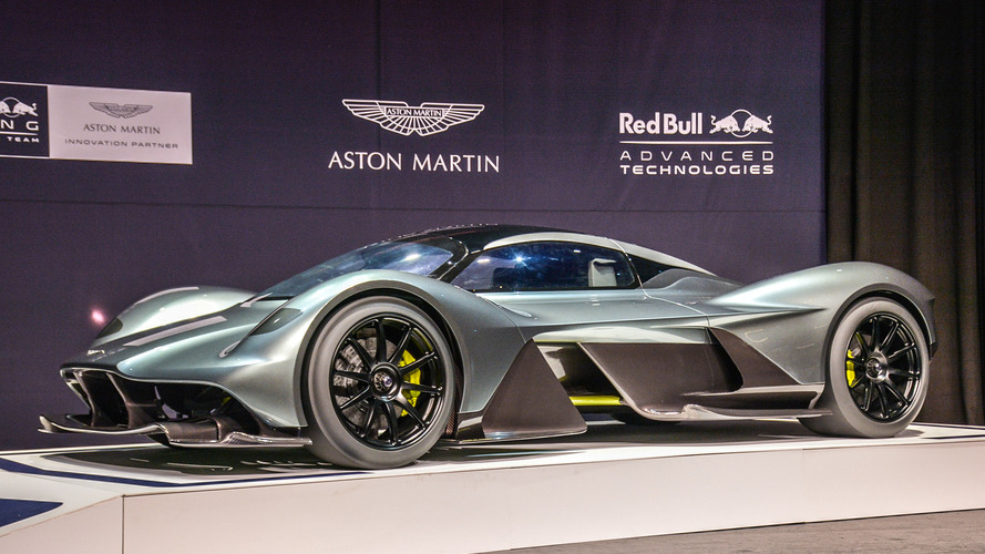 Aston Martin AM-RB 001 hybrid hits auto show circuit in Toronto