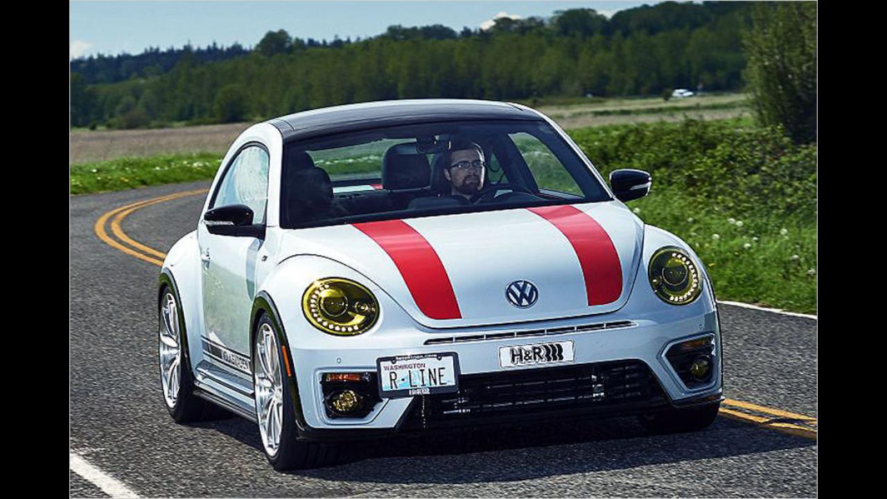 Mehr R-lebnis im VW Beetle