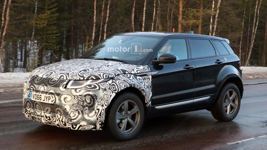 Flagra! - Range Rover Evoque de segunda geração é visto pela 1ª vez