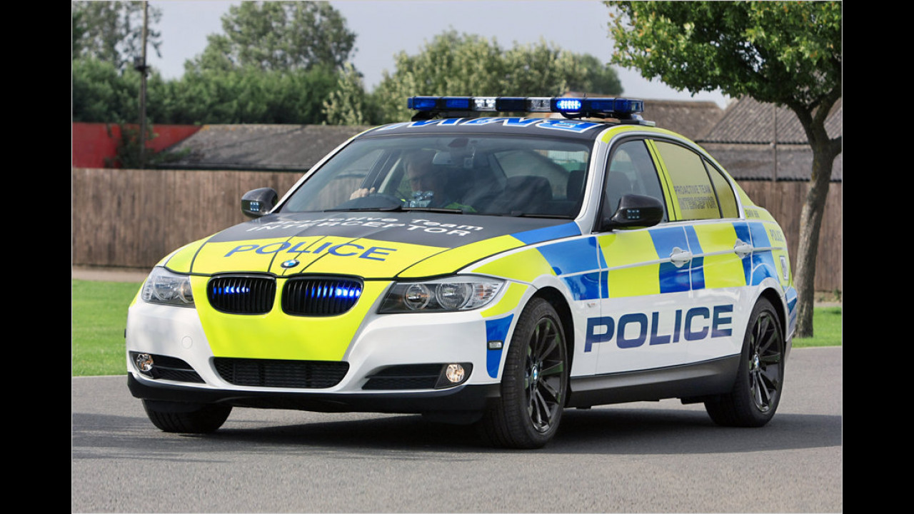 BMW 3er Polizeiversion UK