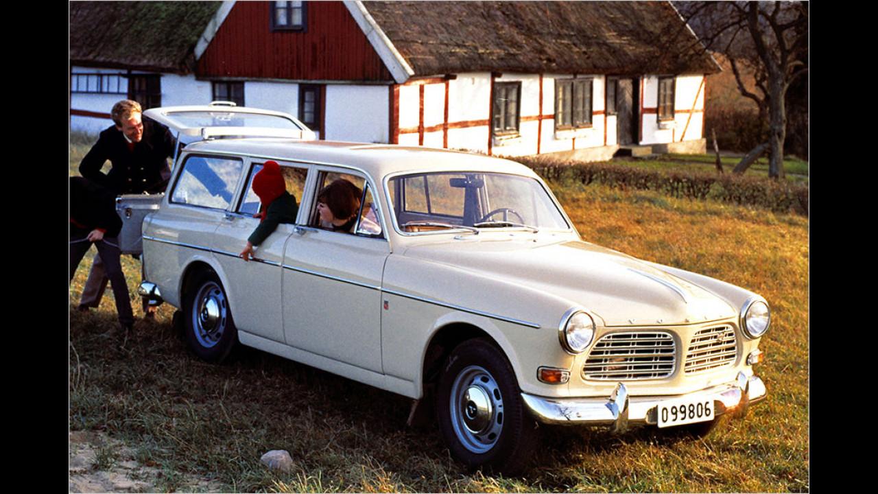Volvo Amazon Kombi: Viel eleganter
