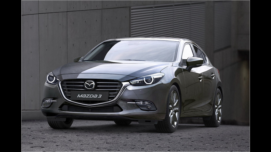 Überarbeitet: Der Mazda 3