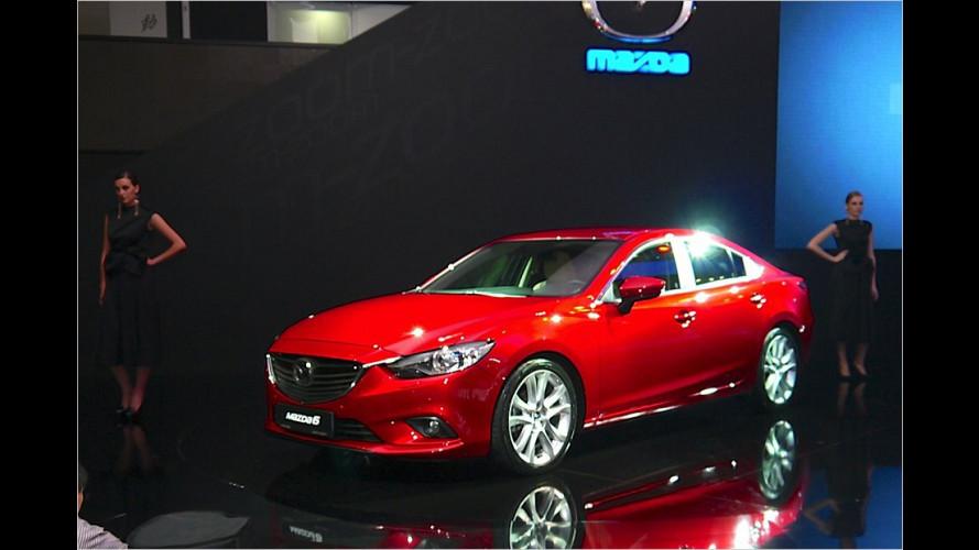 Premieren-Begegnung mit neuem Mazda 6 (2012)
