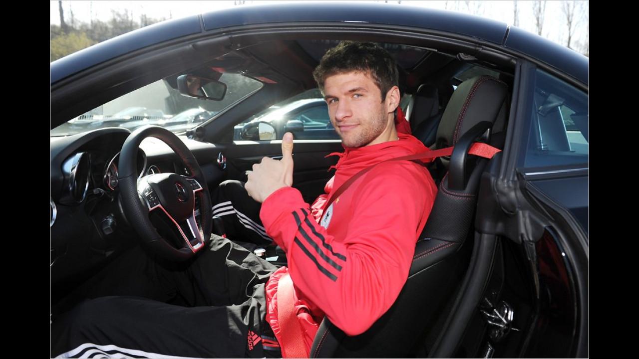 Thomas Müller: Mercedes SLK