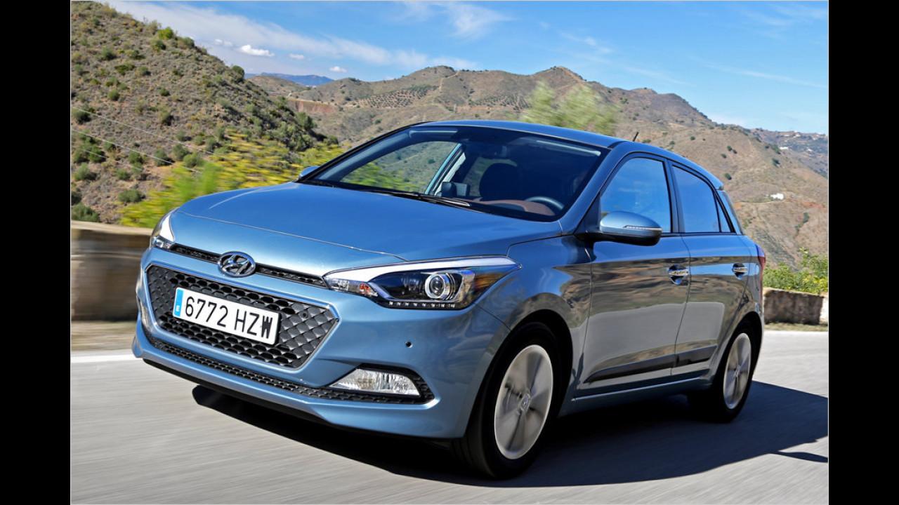 Kleinwagen, Platz 3: Hyundai i20