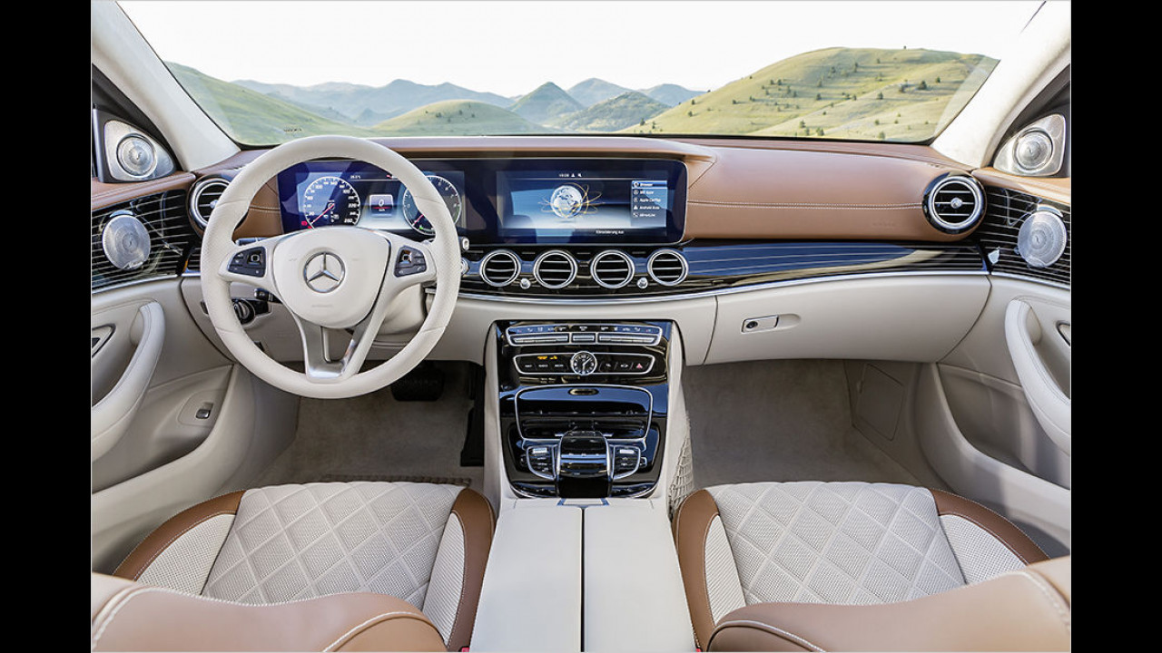 Mercedes W 213 Innenraum (2016)