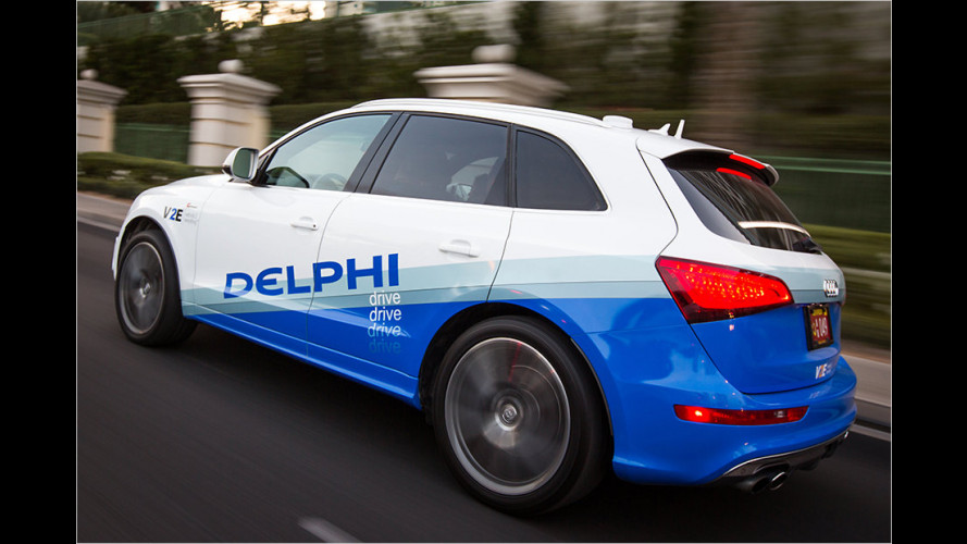 Neue Vernetzungs-Technik von Delphi fürs autonome Fahren