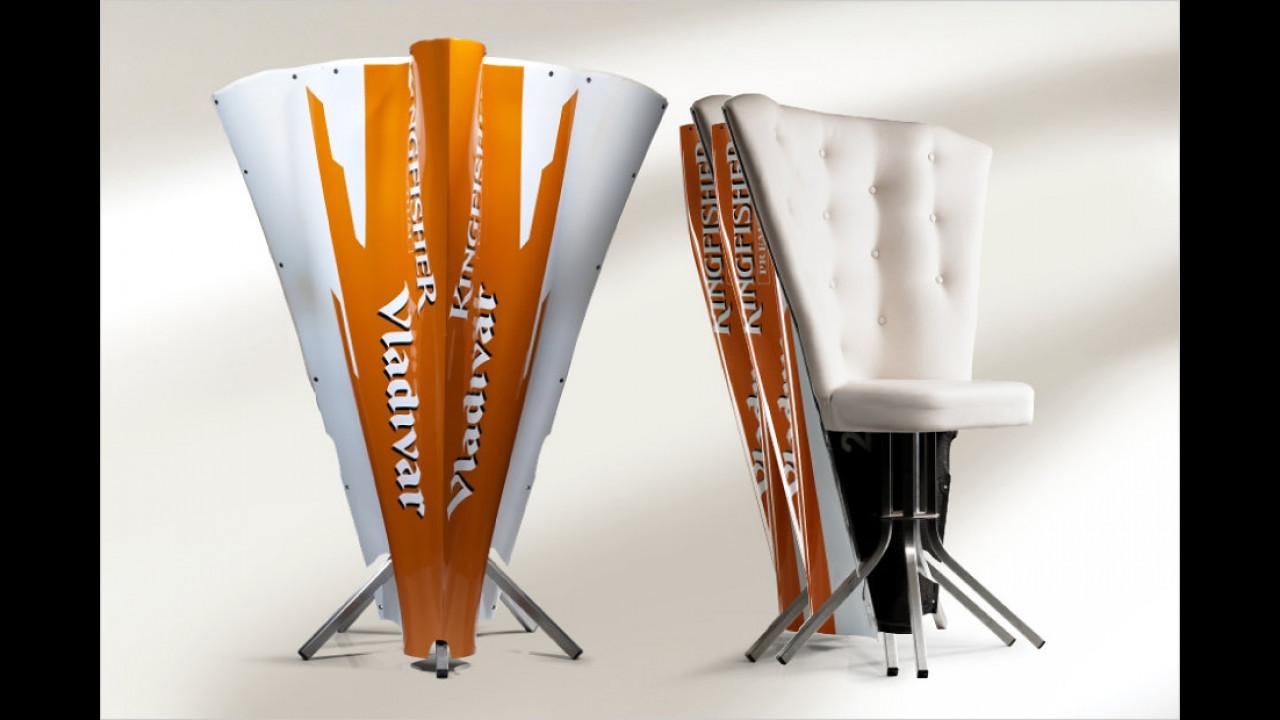 Motorhauben-Stuhl